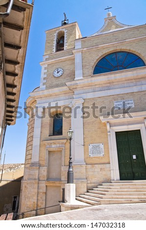 Mother Church. Biccari. Puglia. Italy.