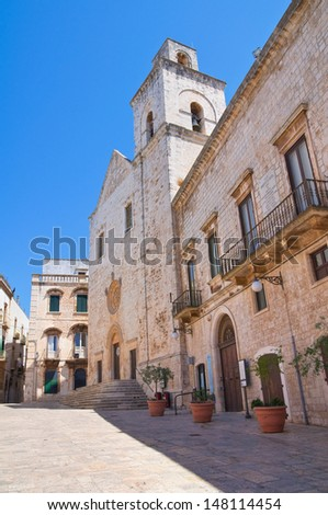Mother Church of St. Pietro. Putignano. Puglia. Italy.