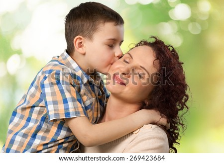 Mother. Mother and daughter - stock photo