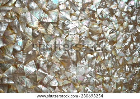 Mother of Pearl abstract mosaic background