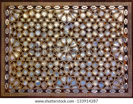 Mother of Pearl Mosaic from Istanbul.