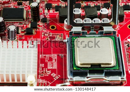 Motherboard cpu and chipset