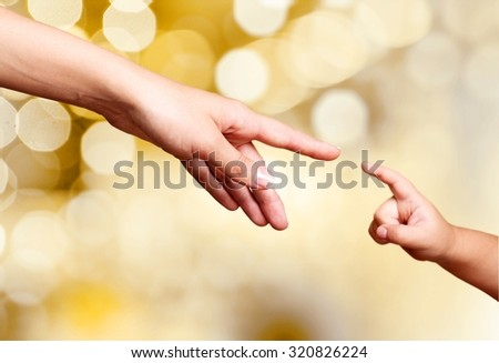 Motherchild. - stock photo