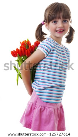 mothers days concept - stock photo