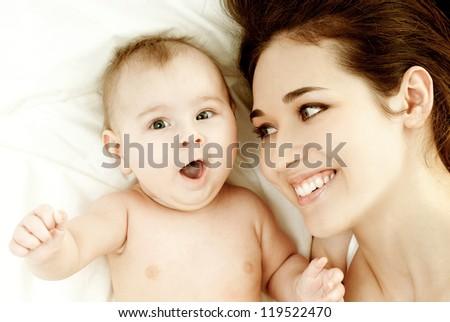 Mothers Love - stock photo