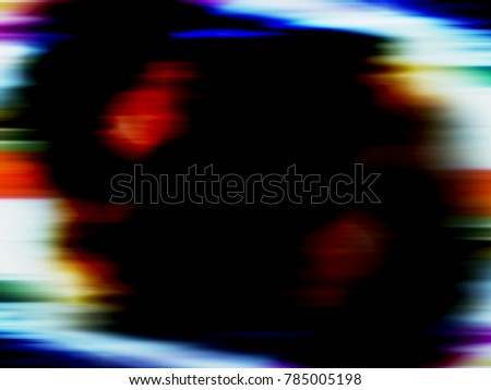 Motion blur background with copywriting space in center