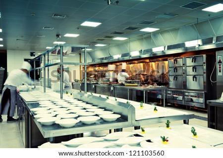 Restaurant Kitchen Background restaurant kitchen fotos, imágenes y retratos en stock | shutterstock