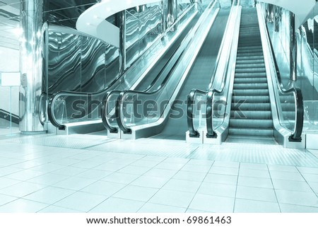 motion of vanishing escalator