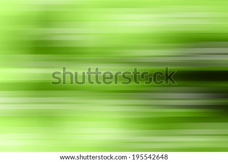 Motion on green background. Abstract background.