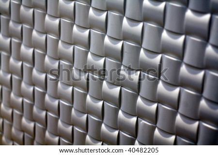 motion square, cushion texture