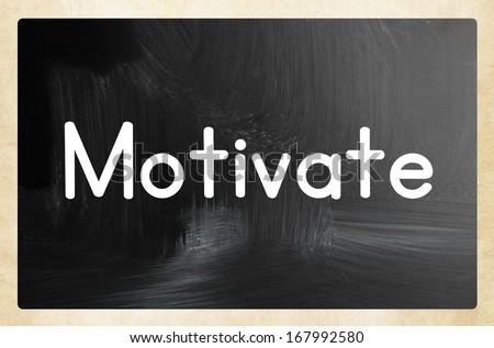 motivate concept - stock photo