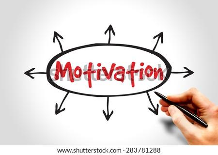 Motivation, business concept - stock photo