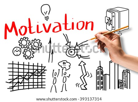 Motivation for business - stock photo