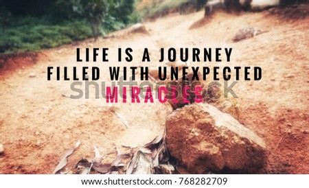 Life Journey Quotes Inspirational Classy Motivational Inspirational Quotes Life Journey Filled Stock Photo