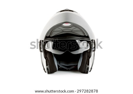 Motor bike helmet for road safety