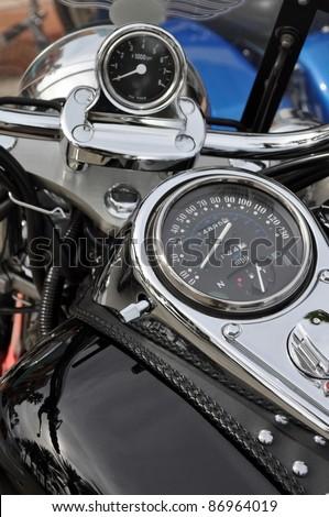 Motorbike passion - stock photo