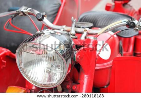 Motorbike Vintage - stock photo