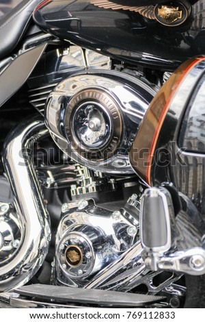 Motorcycle Engine Components St Petersburg Russia Stock Photo (Safe ...