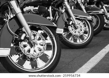 Motorcycles - stock photo