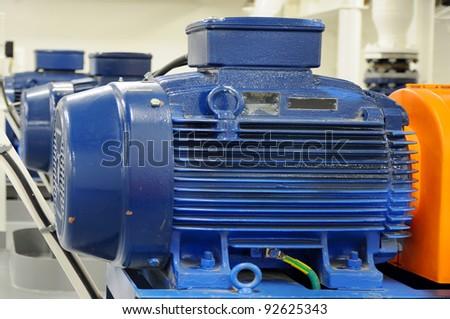 Motors - stock photo