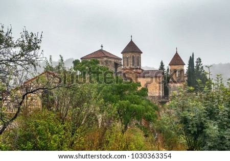 Motsameta Monastery is located 6 kilometers from Kutaisi, Georgia. The present day church dates back to the 11th century
