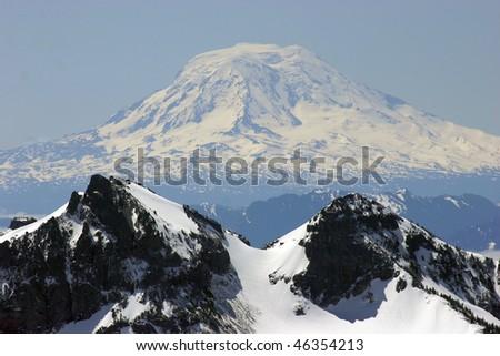 Mount Adams, Washington - stock photo