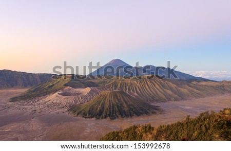 Mount Bromo,Indonesia - stock photo