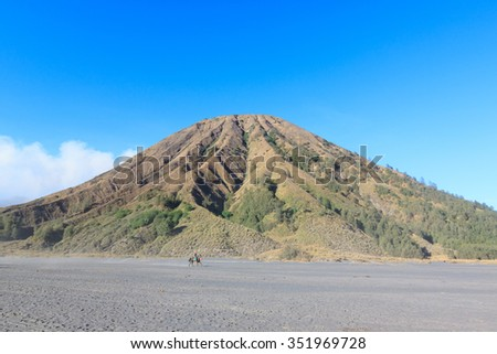 Mount Bromo Volcano, East Java, Indonesia - stock photo