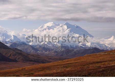 Mount Denali - stock photo