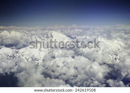 Mount Everest  - stock photo