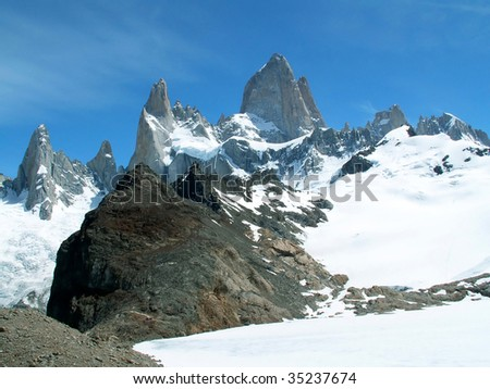 Mount Fitz Roy in southern Argentina