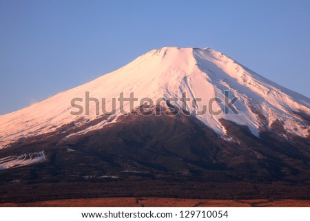 Mount Fuji - stock photo