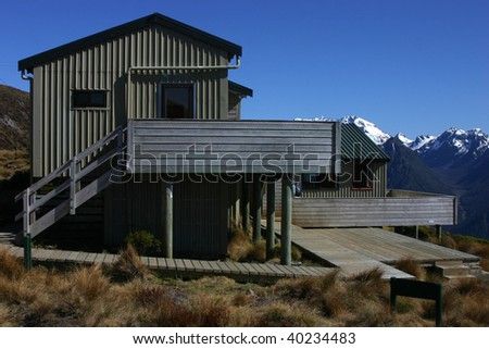 Mount Luxmore shelter