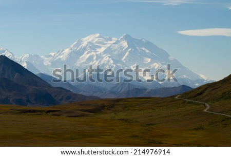 Mount Mc Kinley (Denali) - stock photo
