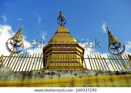 Mount Phou Si, Phou Si, Luang Prabang - stock photo