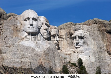 Mount Rushmore in South Dakota, United States
