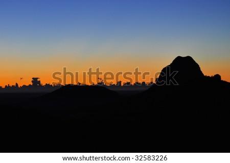 Mount Tibrogargan - stock photo
