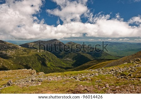 Mount Washington New hampshire - stock photo