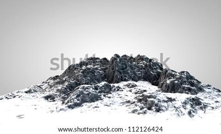 Mountain - stock photo