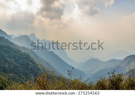Mountain at Vietnam