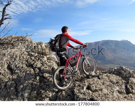 Mountain bike.