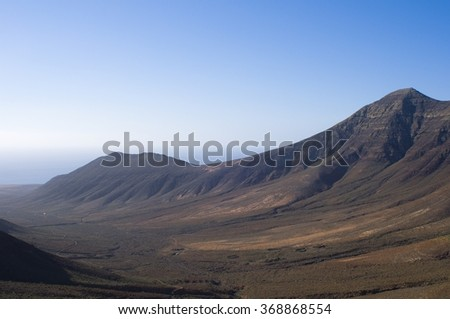 mountain desert - stock photo