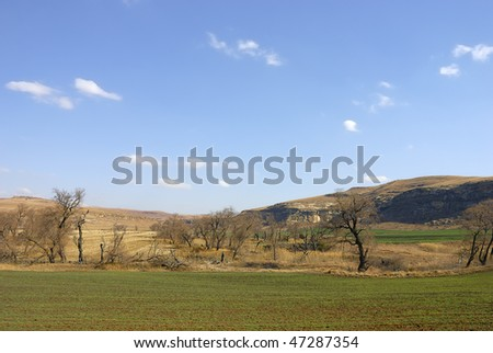 Mountain, Fouriesburg, free state, south africa