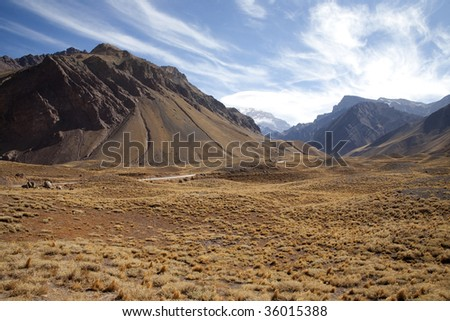 mountain in Andes