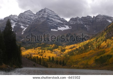 mountain, lake, colorado
