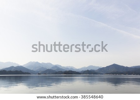 Mountain Lakes - stock photo