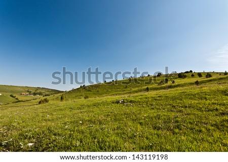 Mountain landscape 1 - stock photo