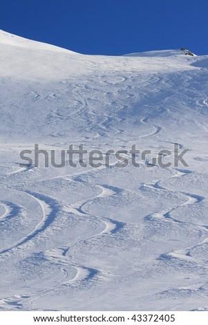 Mountain Patterns - stock photo