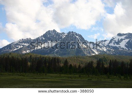 Mountain Range in Idaho