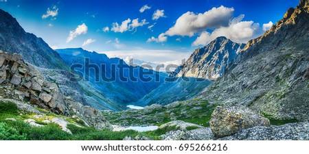 stock-photo-mountain-range-with-valley-m